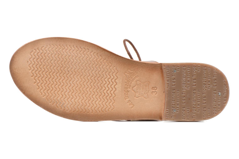 Sandals Les Tropéziennes par M Belarbi Marilyn Brown view from above