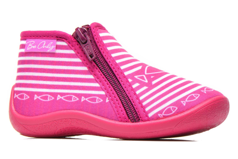Pantofole Be Only Botillon Zip Timouss Rosa immagine posteriore