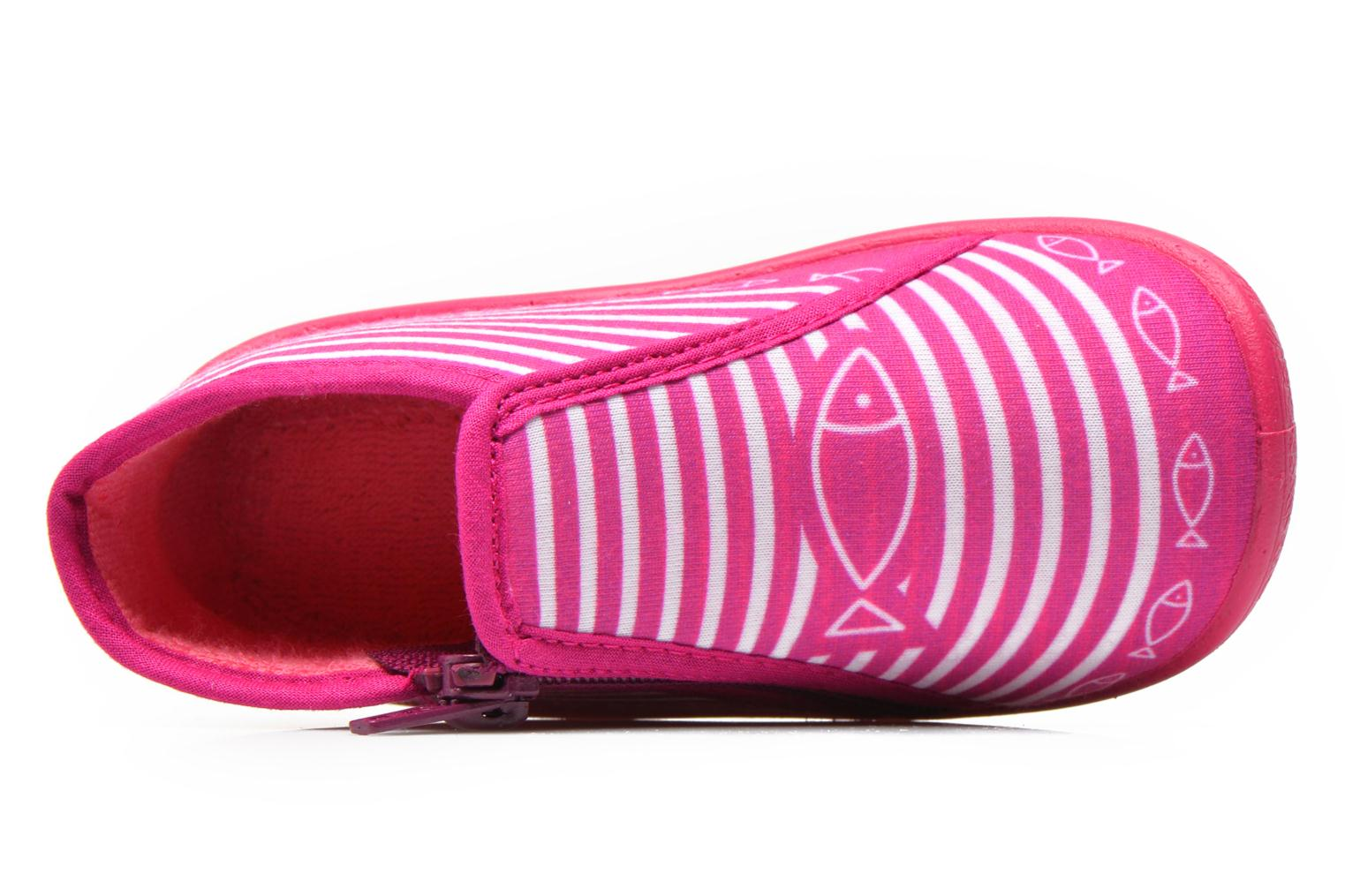 Pantofole Be Only Botillon Zip Timouss Rosa immagine sinistra