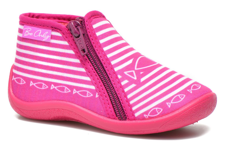 Pantofole Be Only Botillon Zip Timouss Rosa vedi dettaglio/paio