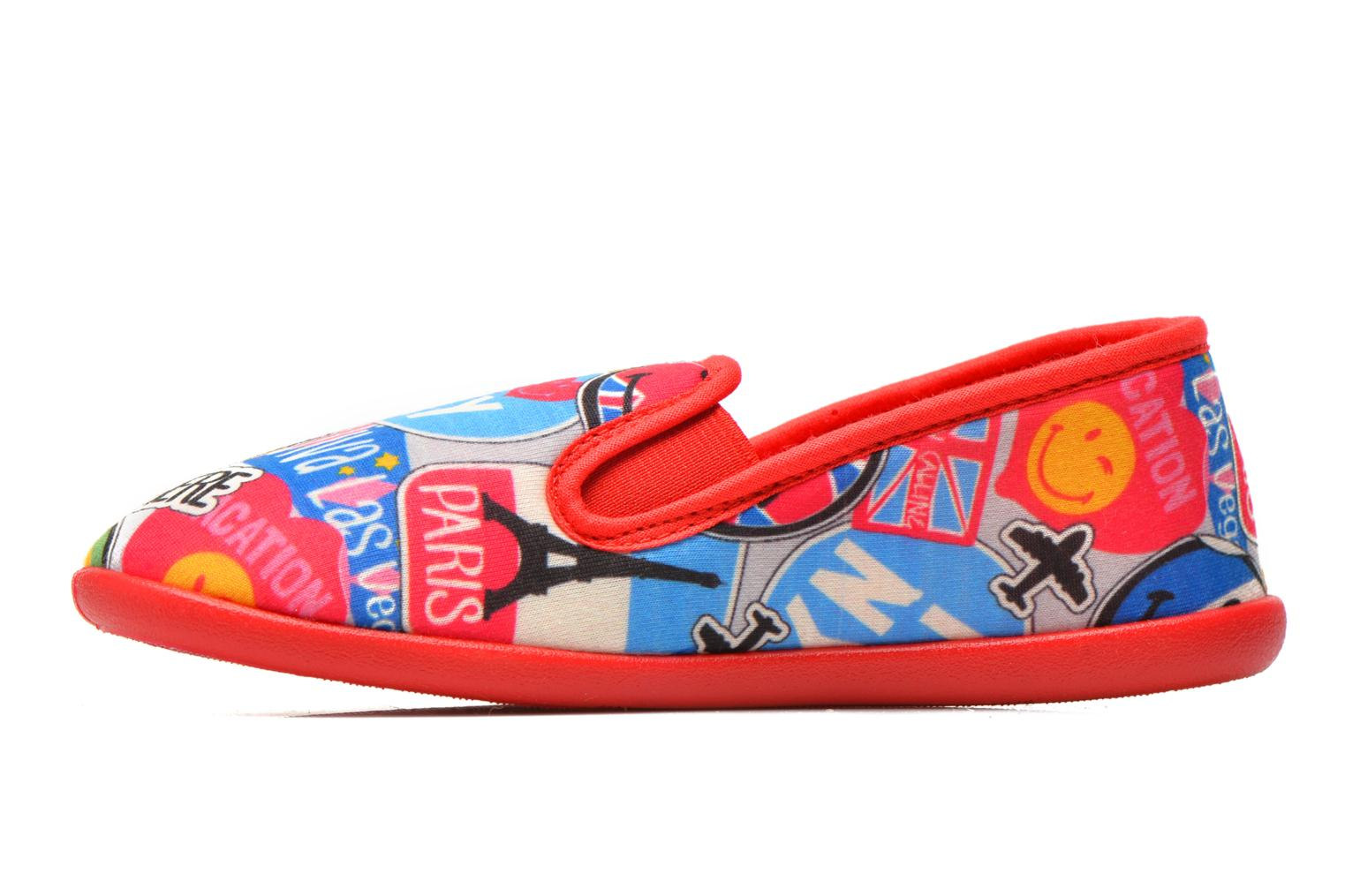 Pantofole Be Only Sans Gene Smiley Travel Multicolore immagine frontale