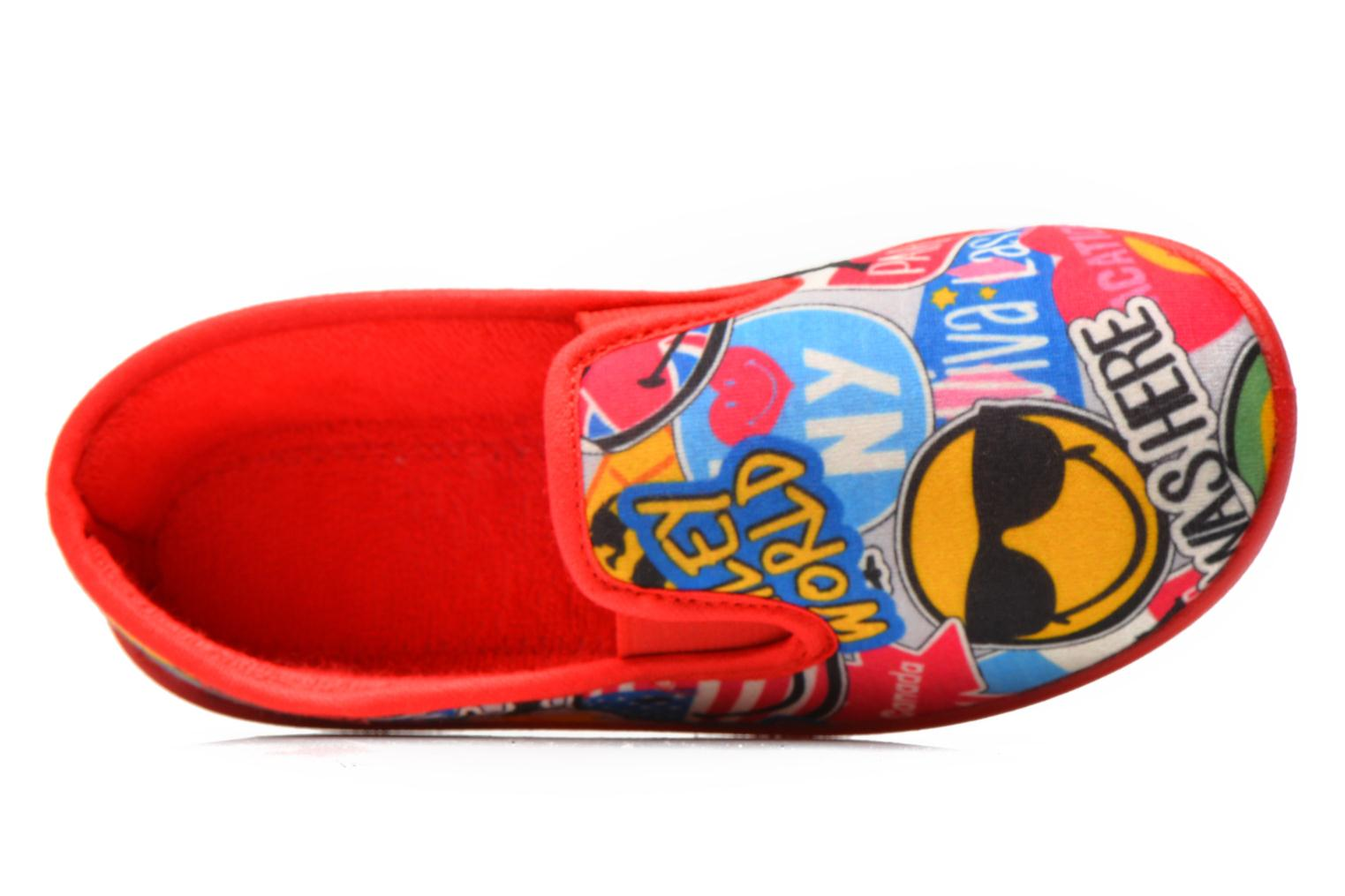 Pantofole Be Only Sans Gene Smiley Travel Multicolore immagine sinistra