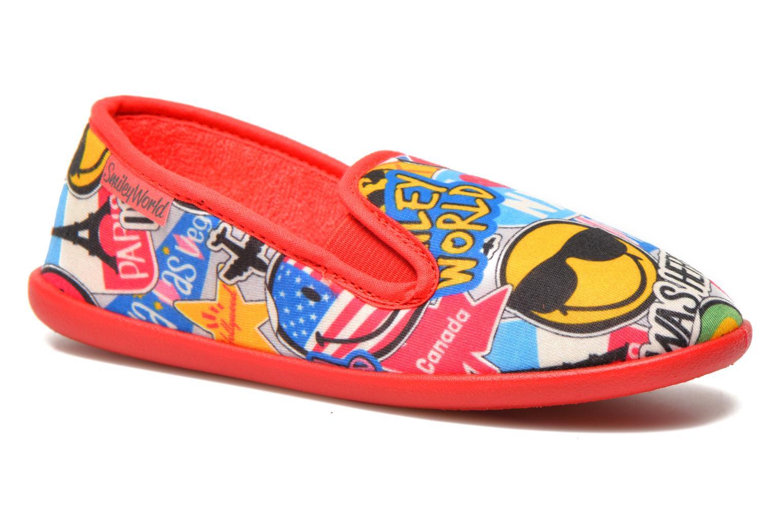 Pantofole Be Only Sans Gene Smiley Travel Multicolore vedi dettaglio/paio