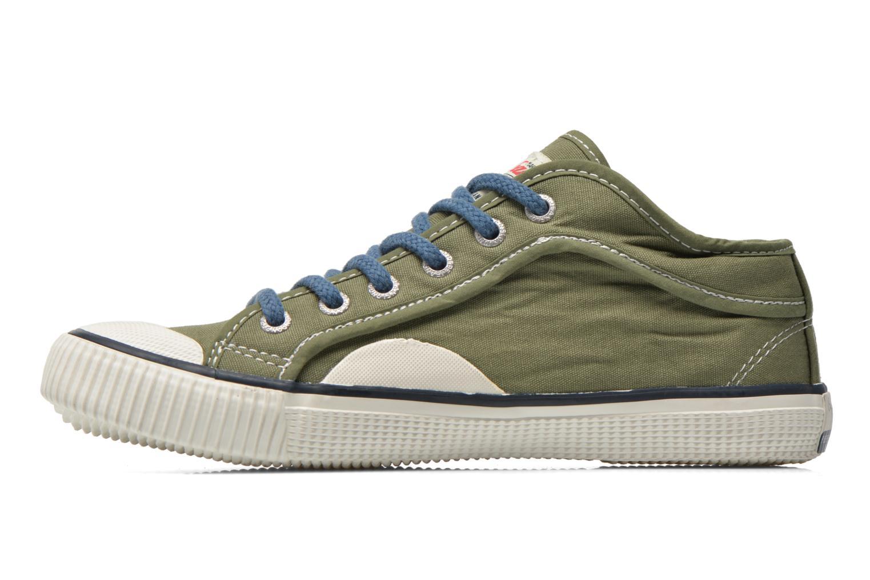 Sneakers Pepe jeans Industry Basic Boy Groen voorkant