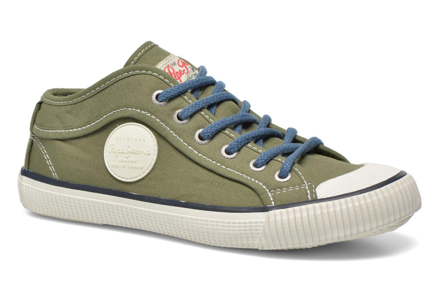 Trainers Pepe jeans Industry Basic Boy Green detailed view/ Pair view