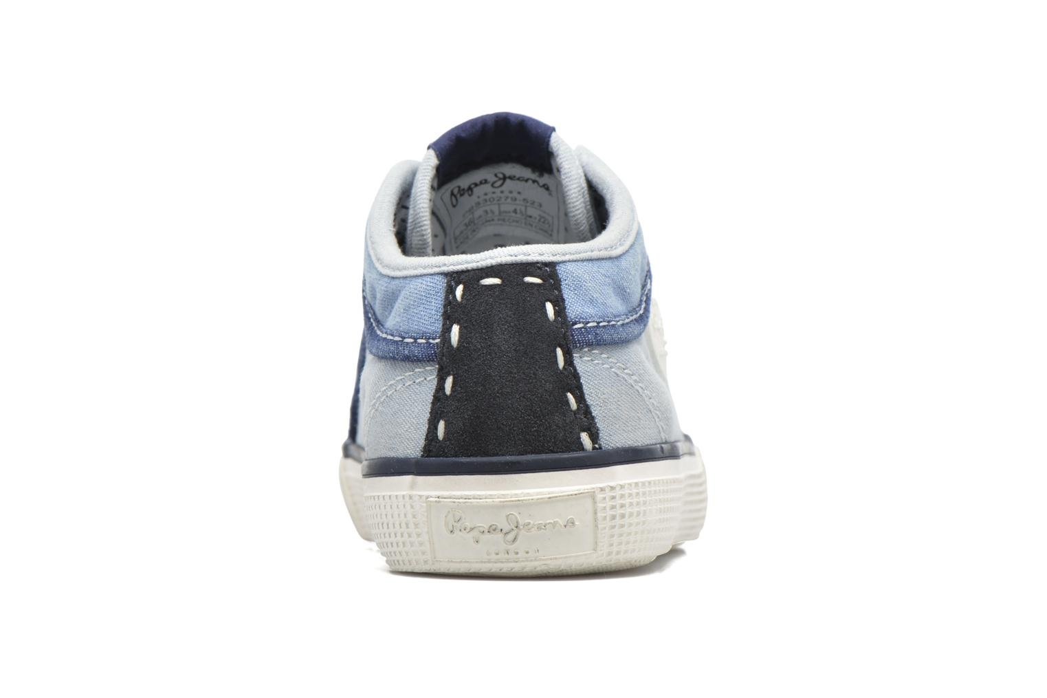 Trainers Pepe jeans Industry Basic Boy Blue view from the right