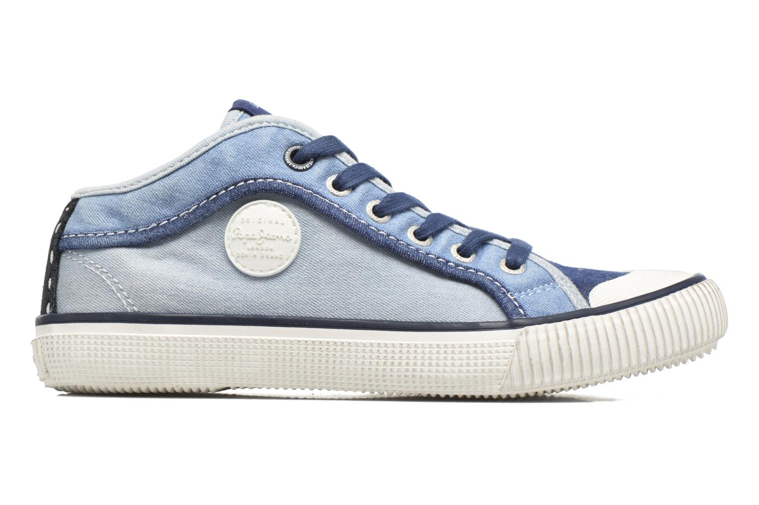 Sneakers Pepe jeans Industry Basic Boy Blauw achterkant