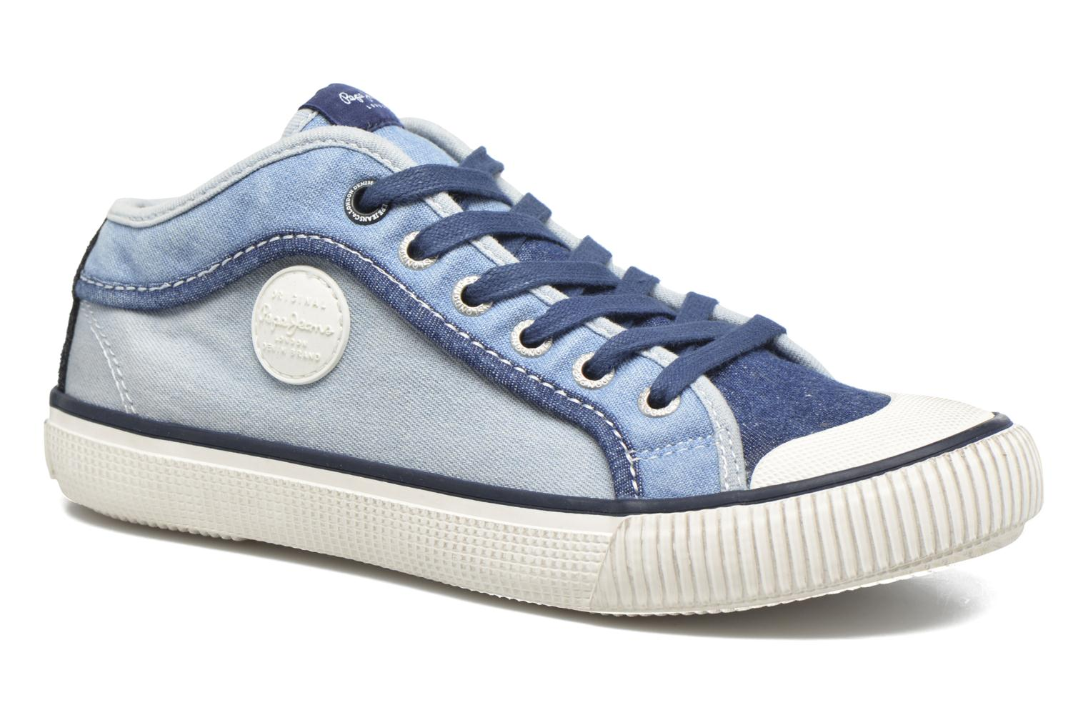 Trainers Pepe jeans Industry Basic Boy Blue detailed view/ Pair view
