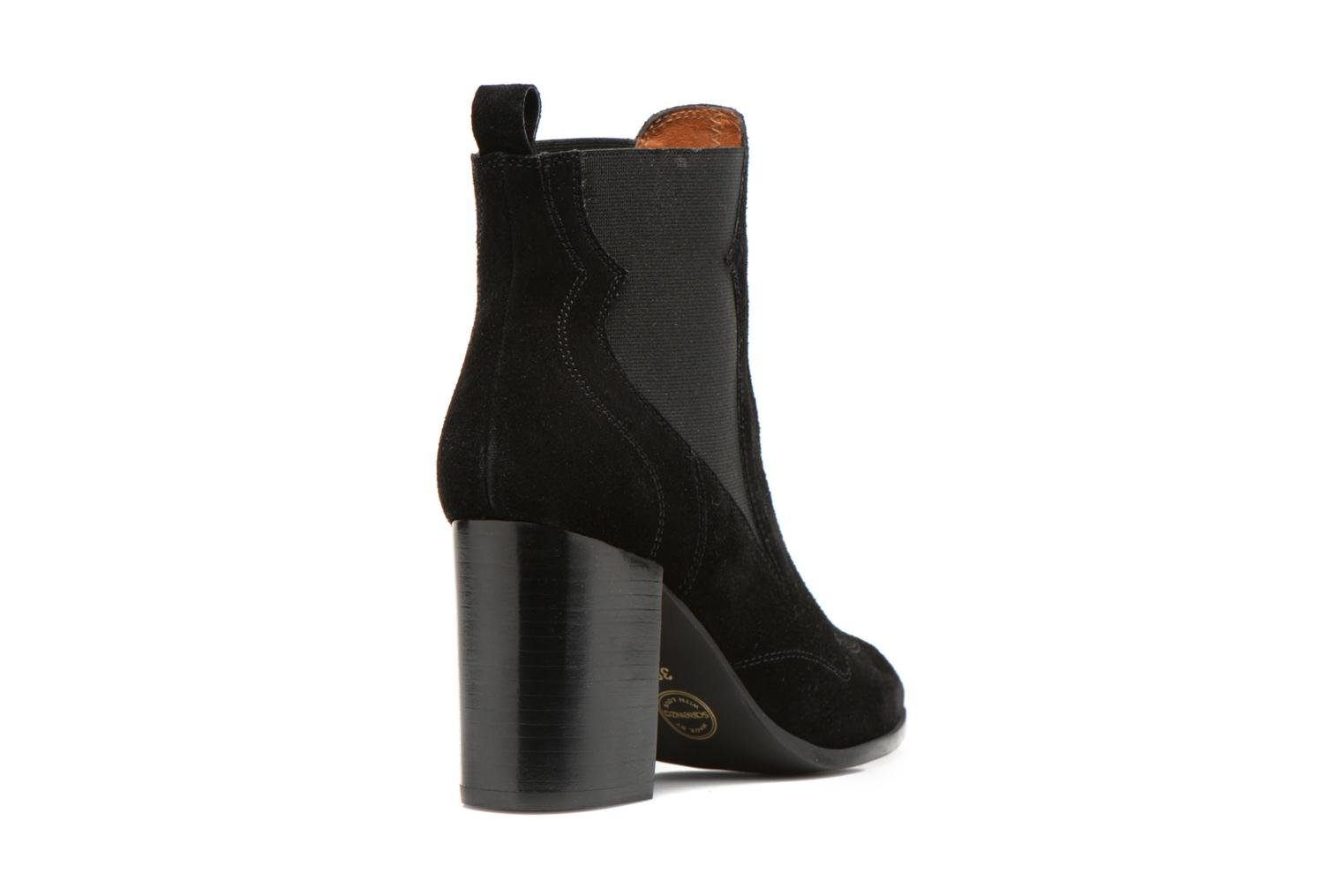 Bottines et boots Made by SARENZA Western Fever #8 Noir vue face