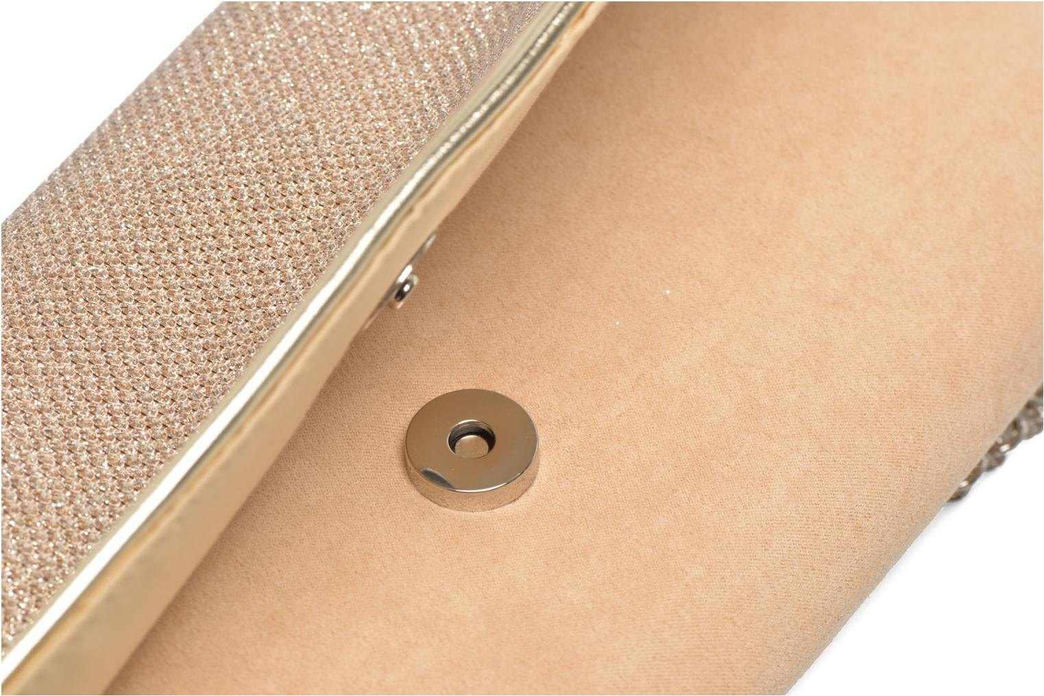 Clutch bags Menbur Ampere Beige view from the left