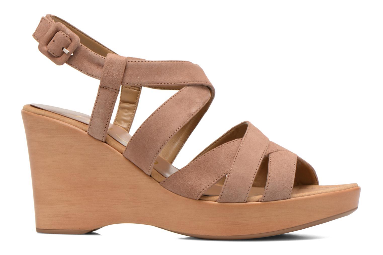 Sandales et nu-pieds Unisa Rodri Marron vue derrière