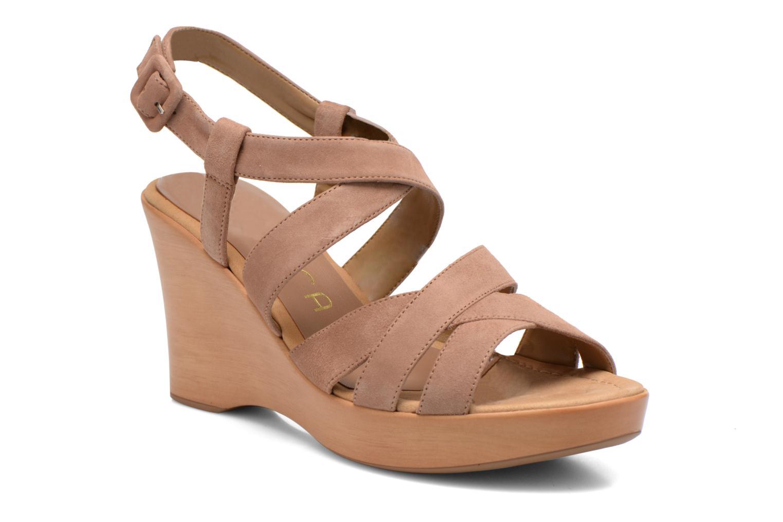 Sandales et nu-pieds Unisa Rodri Marron vue détail/paire