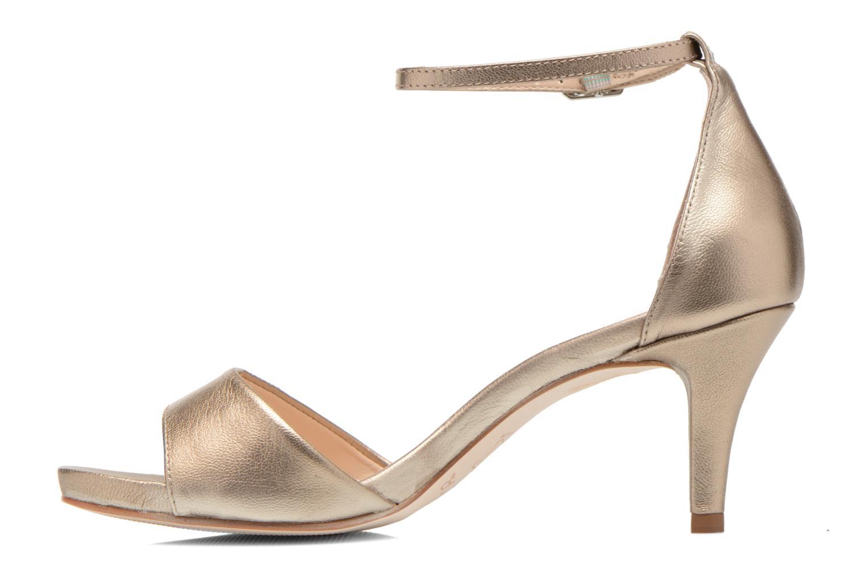 Sandalen Unisa Once gold/bronze ansicht von vorne