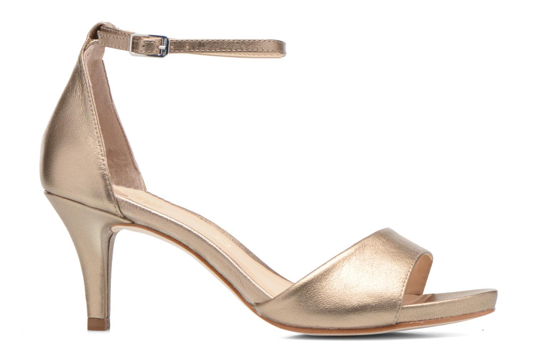 Sandalen Unisa Once gold/bronze ansicht von hinten