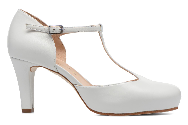 Zapatos de tacón Unisa Netan Blanco vistra trasera