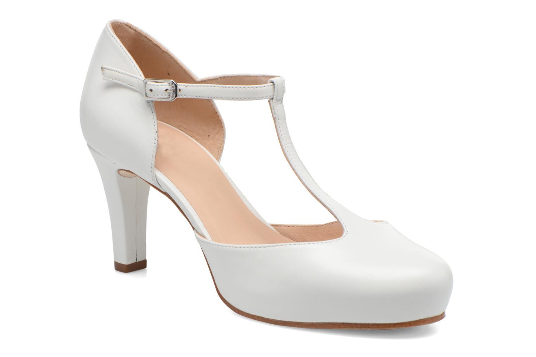 Høje hæle Unisa Netan Hvid detaljeret billede af skoene