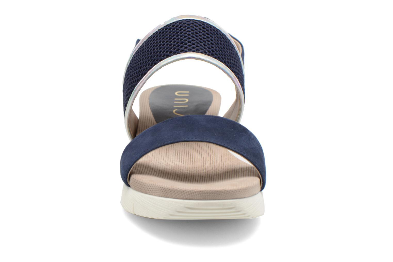 Sandali e scarpe aperte Unisa Barce Azzurro modello indossato