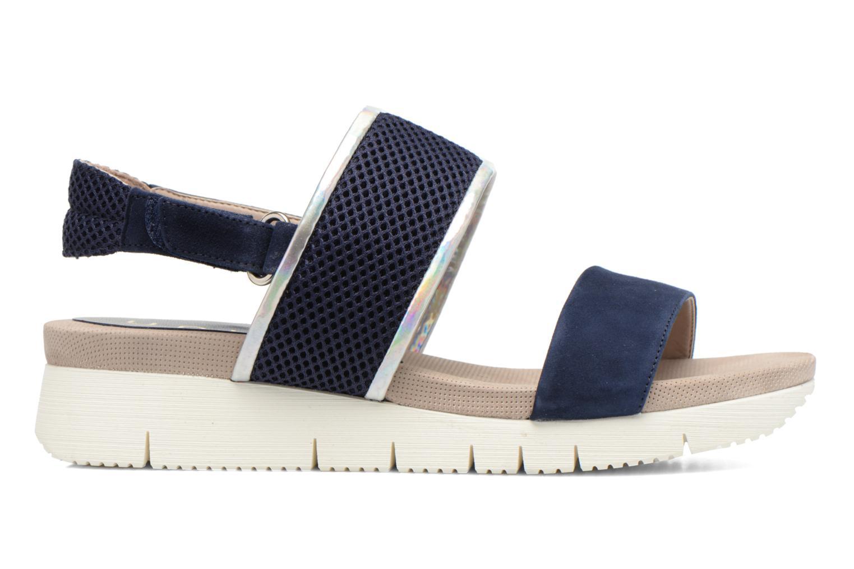 Sandales et nu-pieds Unisa Barce Bleu vue derrière