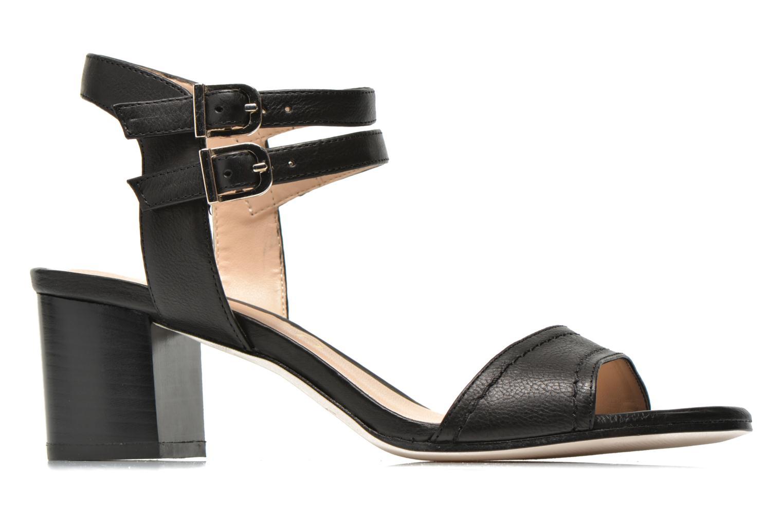 Sandales et nu-pieds Unisa Osen Noir vue derrière