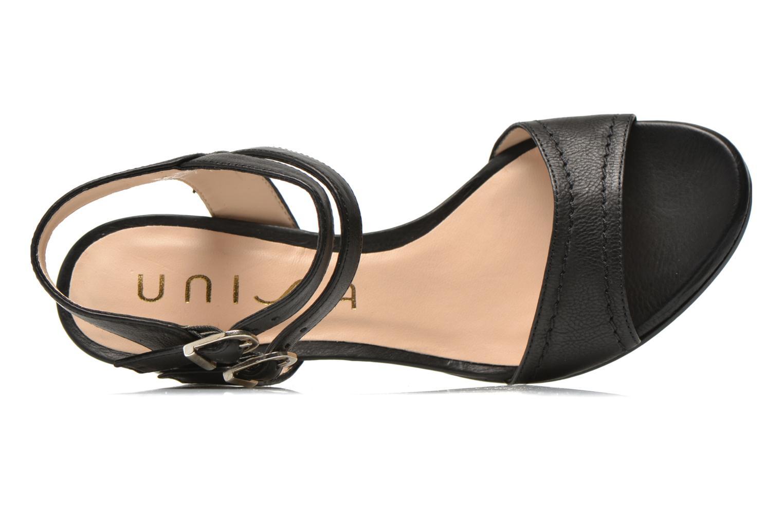 Sandales et nu-pieds Unisa Osen Noir vue gauche