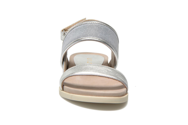 Sandali e scarpe aperte Unisa Paves Argento modello indossato