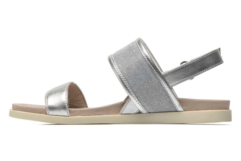 Sandales et nu-pieds Unisa Paves Argent vue face