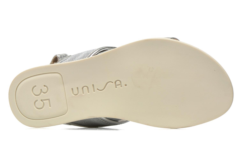 Sandali e scarpe aperte Unisa Paves Argento immagine dall'alto