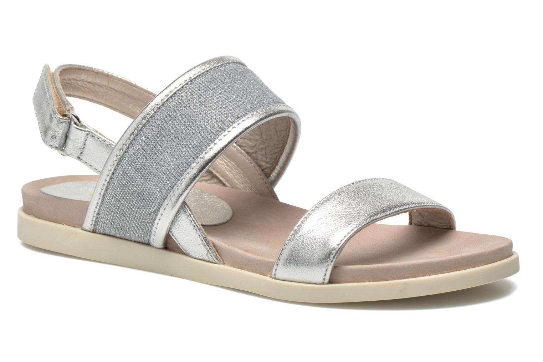 Sandales et nu-pieds Unisa Paves Argent vue détail/paire