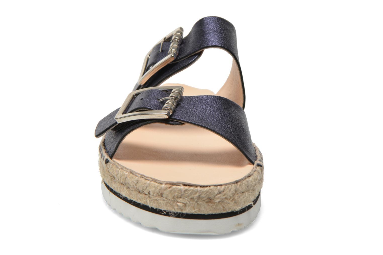 Mules et sabots Anaki Acapulco Bleu vue portées chaussures