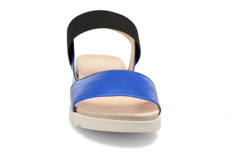 Sandales et nu-pieds Anaki Miami Bleu vue portées chaussures