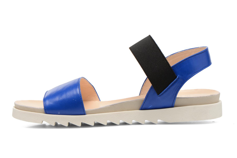 Sandales et nu-pieds Anaki Miami Bleu vue face