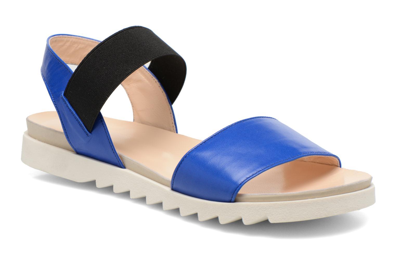 Sandales et nu-pieds Anaki Miami Bleu vue détail/paire