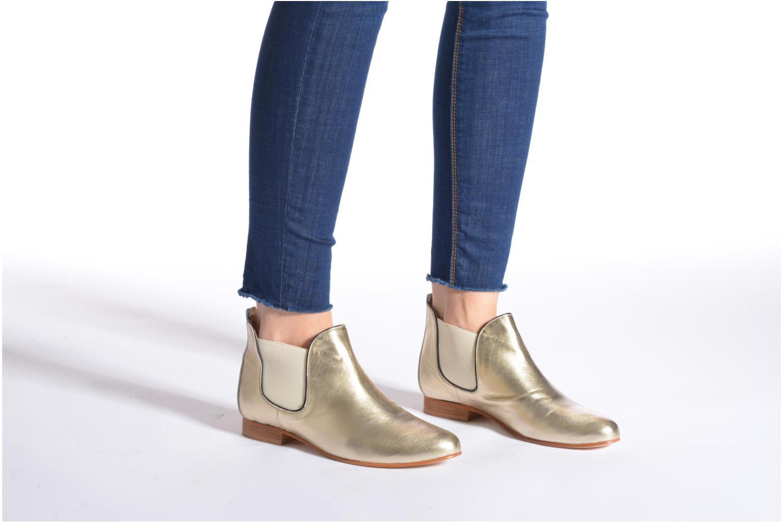 Bottines et boots Anaki Lagun Or et bronze vue bas / vue portée sac