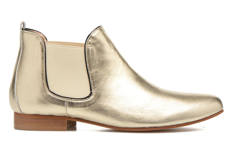 Bottines et boots Anaki Lagun Or et bronze vue derrière
