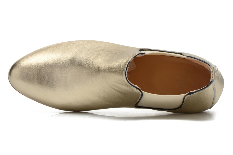 Bottines et boots Anaki Lagun Or et bronze vue gauche