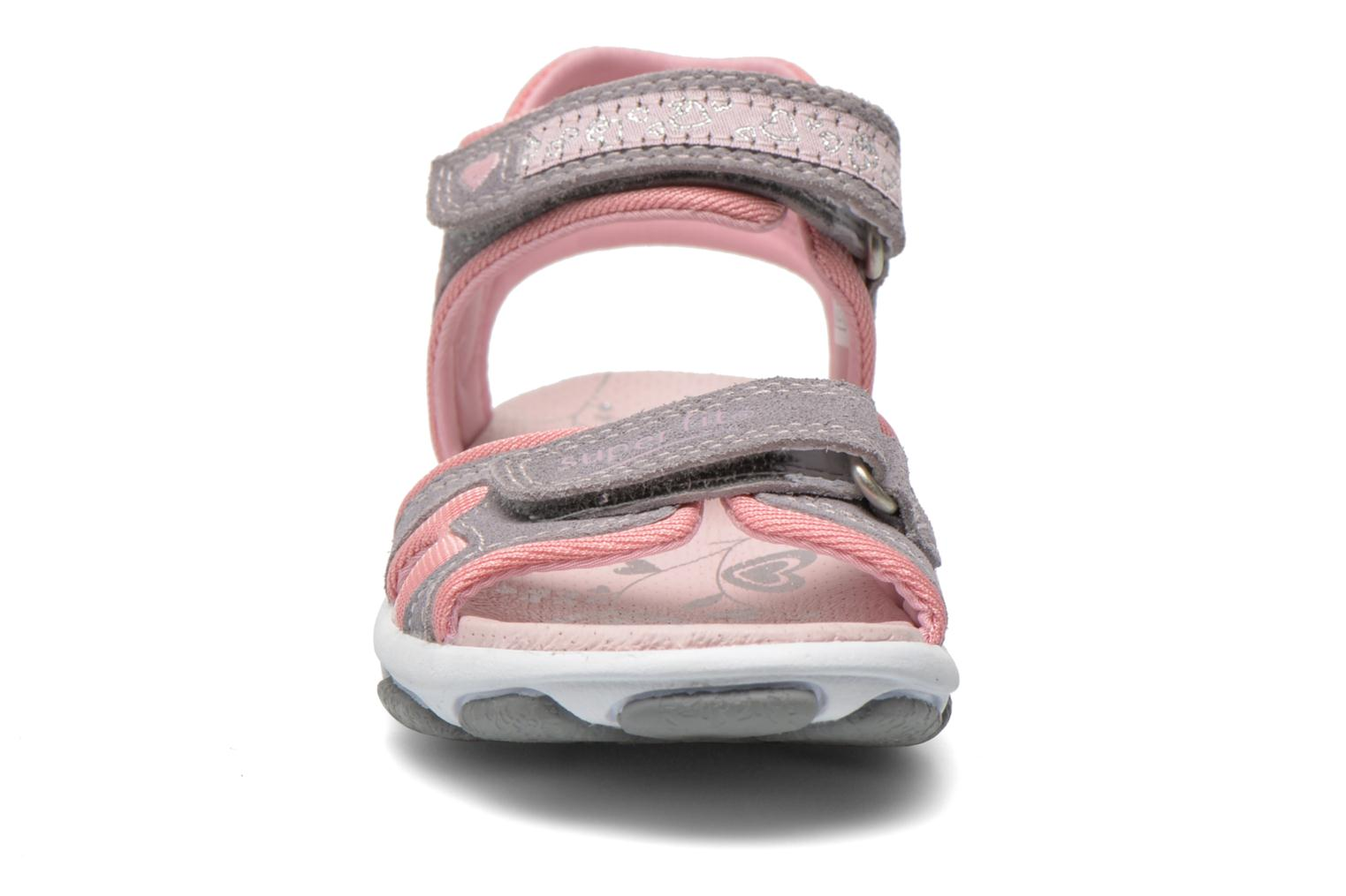 Sandals Superfit Nelly Grey model view