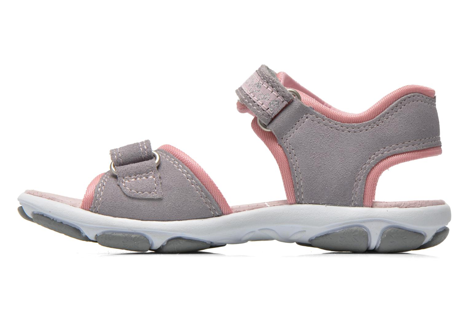 Sandals Superfit Nelly Grey front view