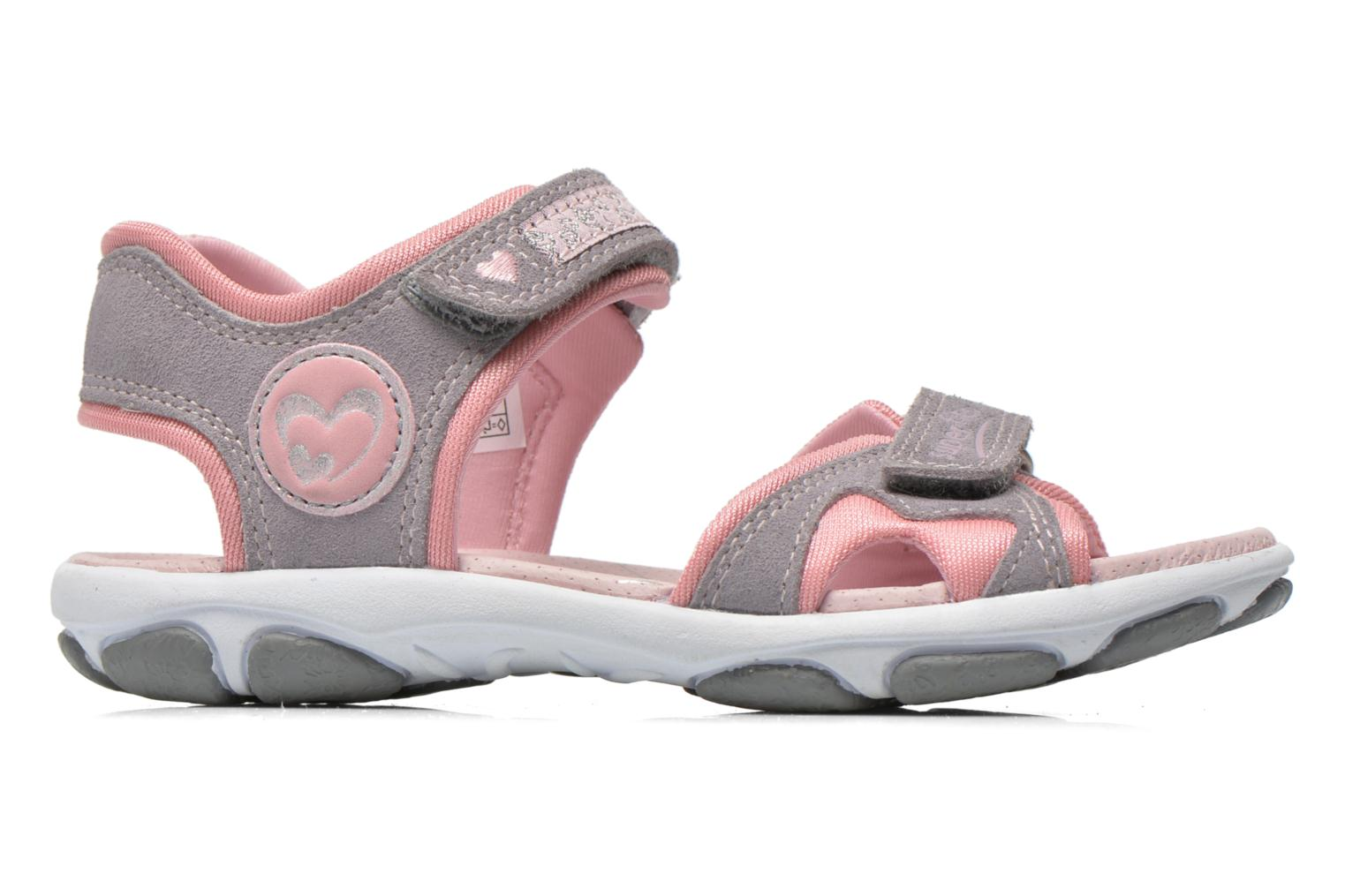 Sandals Superfit Nelly Grey back view