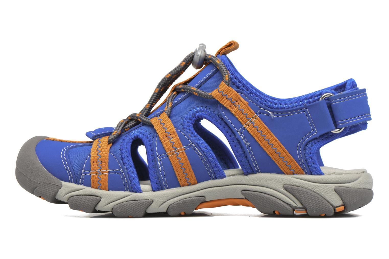 Sandales et nu-pieds Superfit Octopuss Bleu vue face