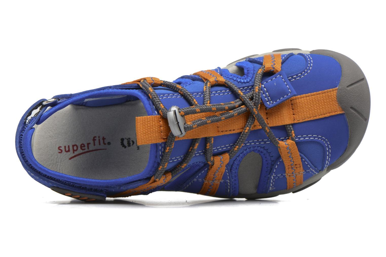 Sandales et nu-pieds Superfit Octopuss Bleu vue gauche