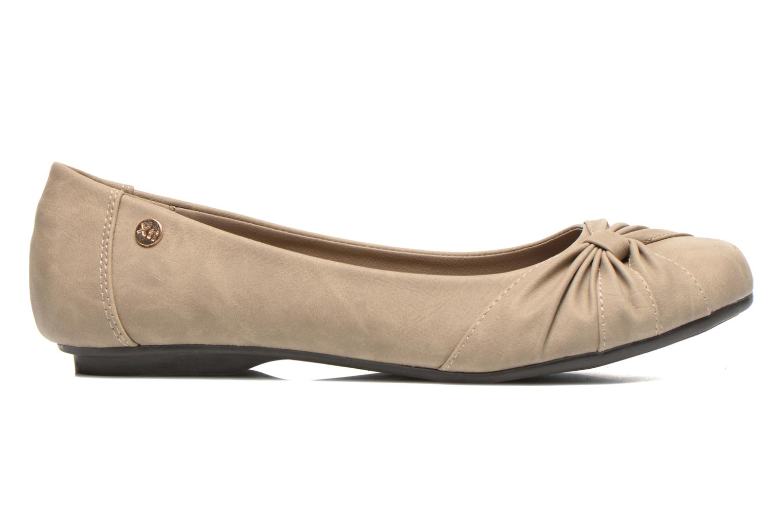 Ballet pumps Xti Mihama Beige back view