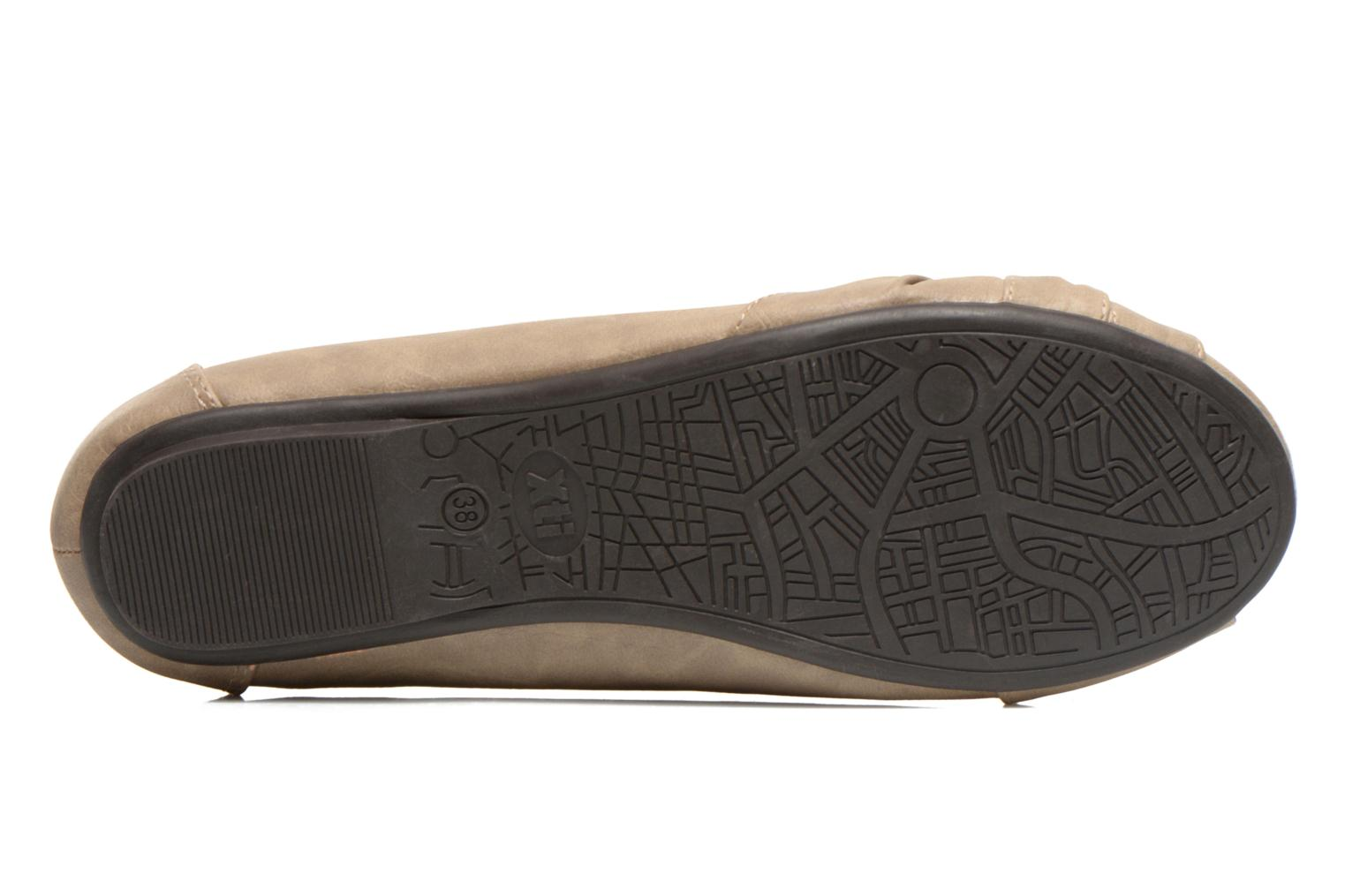Ballet pumps Xti Mihama Beige view from above