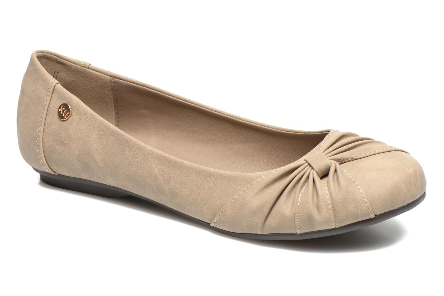 Ballet pumps Xti Mihama Beige detailed view/ Pair view