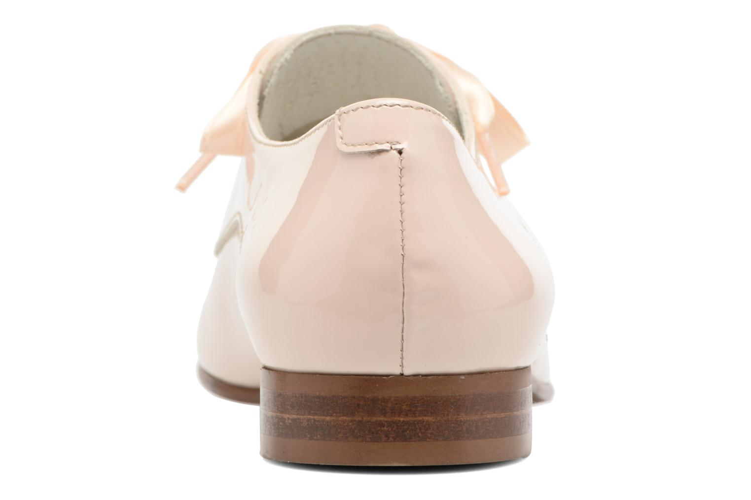 Lace-up shoes Georgia Rose Alilikou Beige view from the right