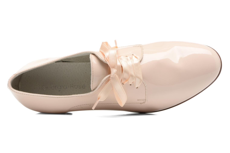 Chaussures à lacets Georgia Rose Alilikou Beige vue gauche
