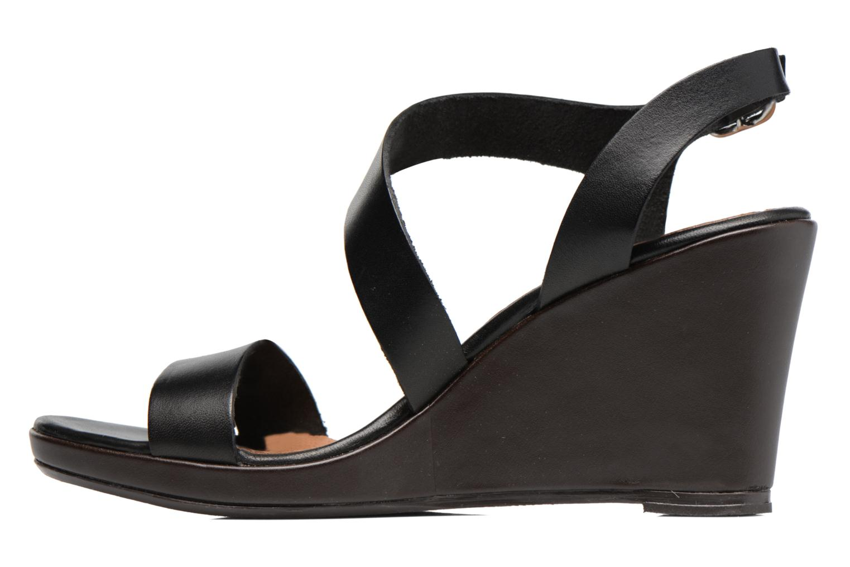 Sandali e scarpe aperte Georgia Rose Ecarme Nero immagine frontale