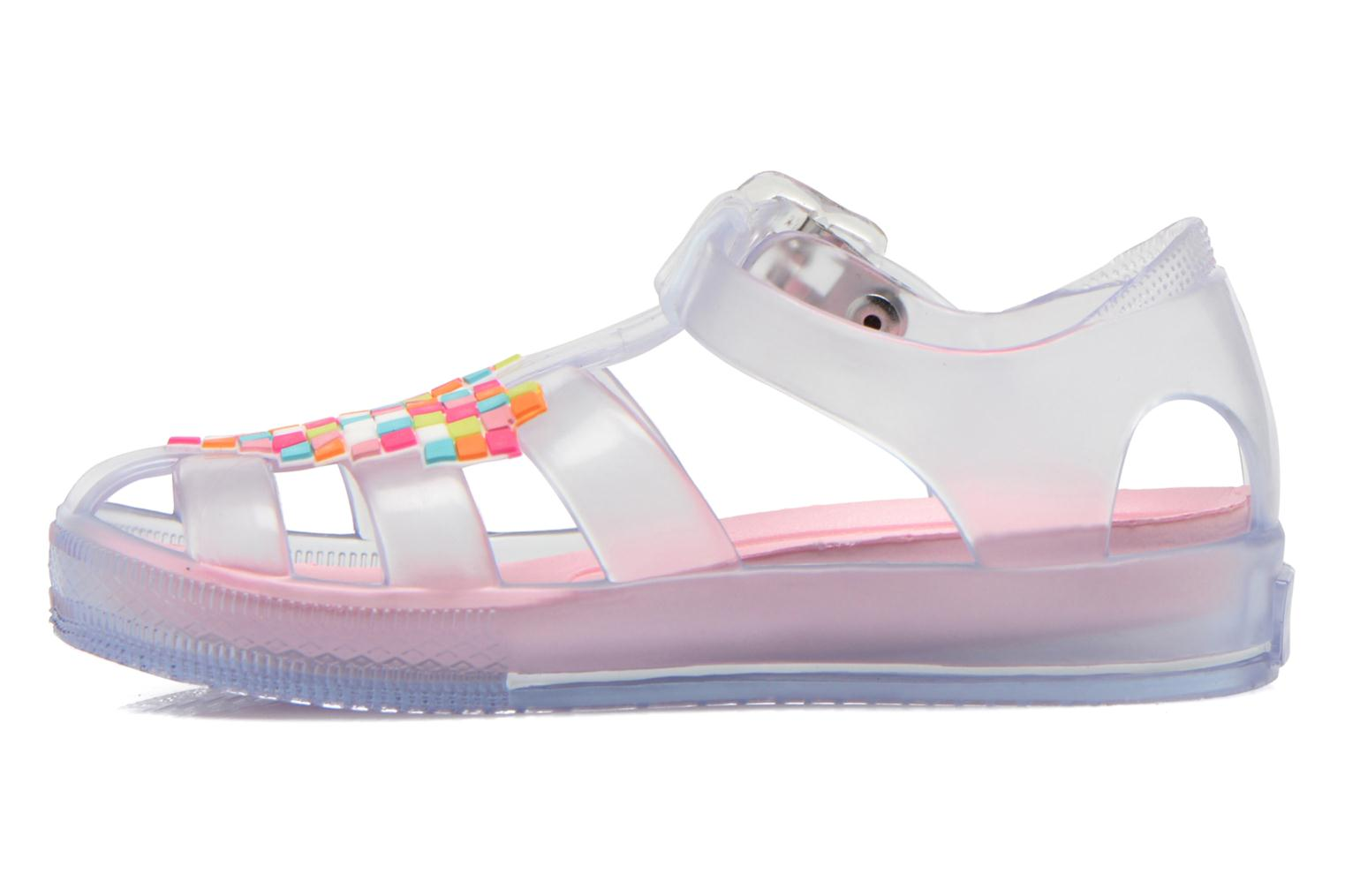Sandals Agatha Ruiz de la Prada Playa Agatha Colorless front view