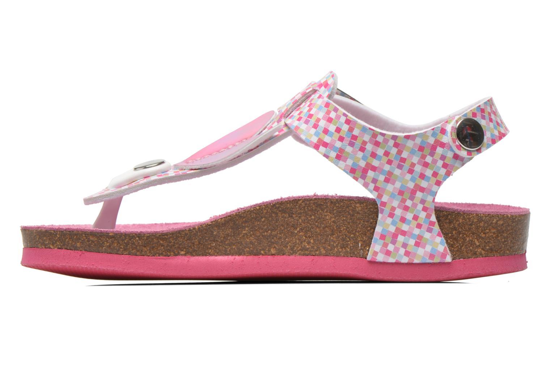 Sandales et nu-pieds Agatha Ruiz de la Prada Lola Multicolore vue face
