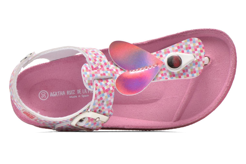 Sandales et nu-pieds Agatha Ruiz de la Prada Lola Multicolore vue gauche