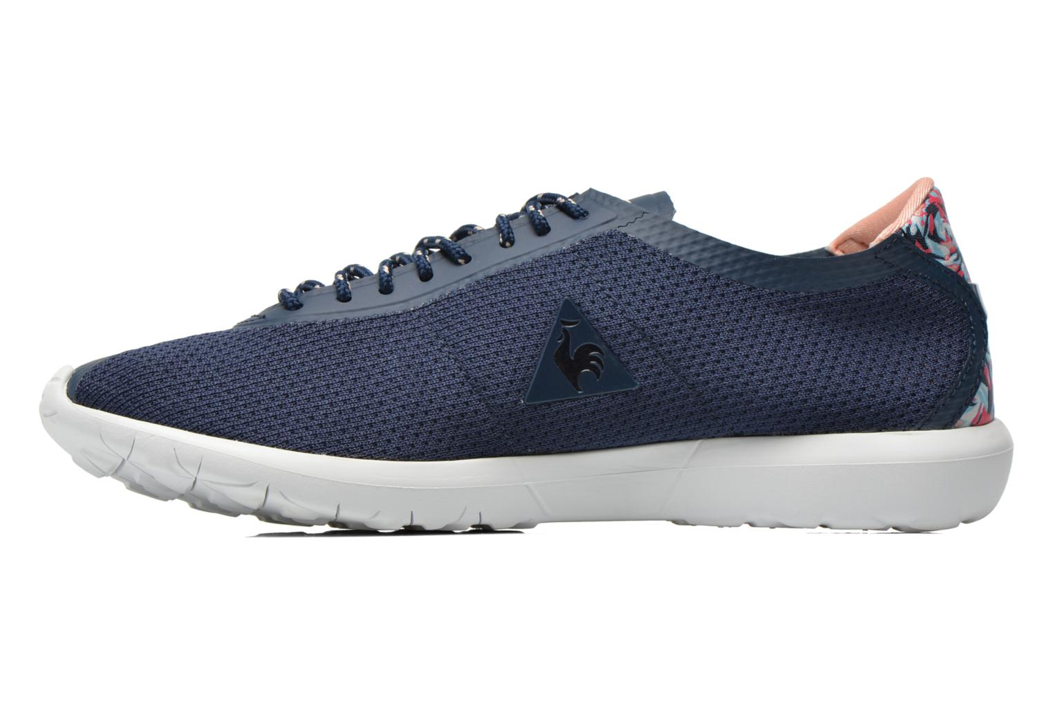 Baskets Le Coq Sportif Wendon Levity W Flower Jacquard Bleu vue face